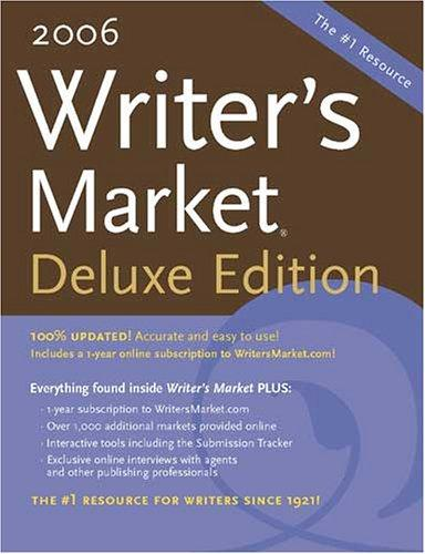 2006 Writers Market (Deluxe Edition)(Writer's Market Online) by