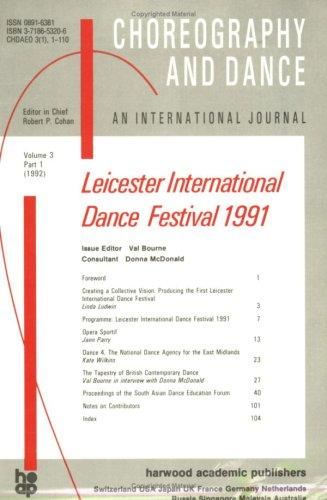 Second Leicester International Dance Festival by Donna McDonald