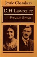 D.H. Lawrence : a personal record by T. E.