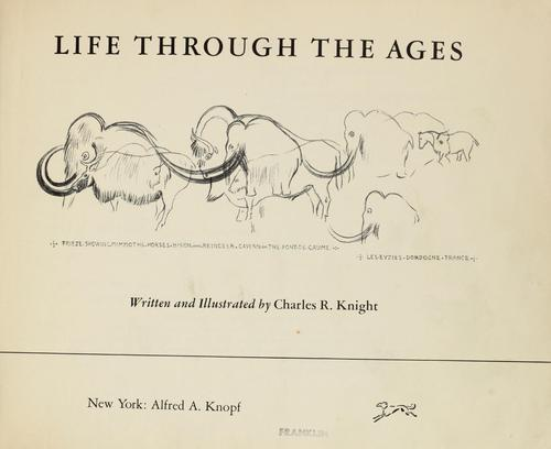Life through the ages by Charles Robert Knight