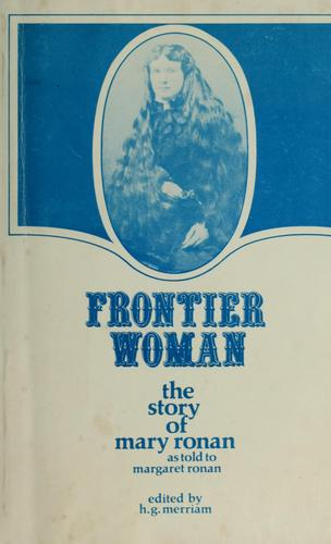 Frontier woman by Mary Ronan