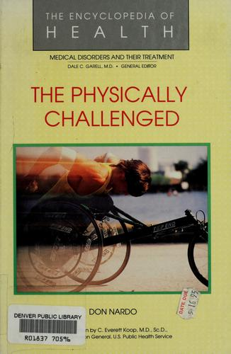The physically challenged by Don Nardo