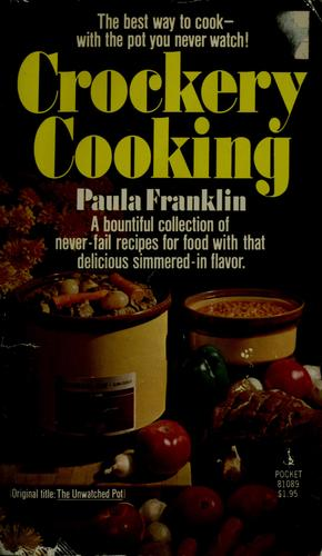 crockery cooking by paula franklin