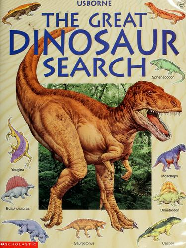 The Great Dinosaur Search by Rosie Heywood