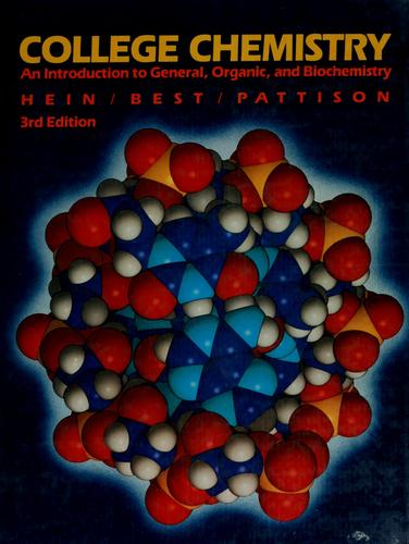 College chemistry by Morris Hein