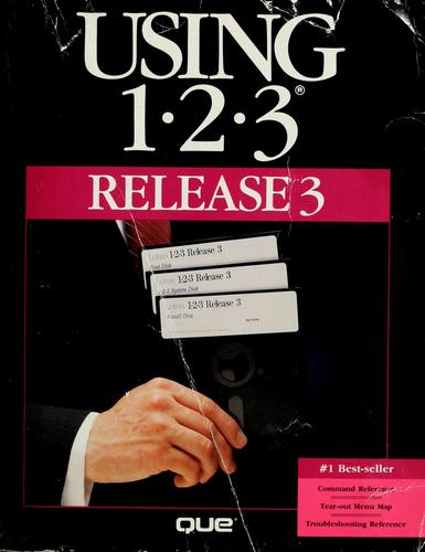 Using 1-2-3 release 3 by developed by Que Corporation.
