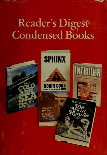 Reader's digest condensed books by Robin Cook