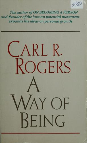 A way of being by Rogers, Carl R.