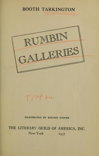 Rumbin galleries by Booth Tarkington