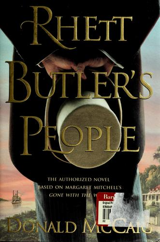 Rhett Butler's people by McCaig, Donald.
