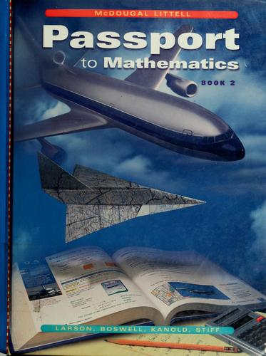 Passport to mathematics by Ron Larson