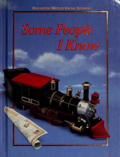 Some people I know by Beverly Jeanne Armento