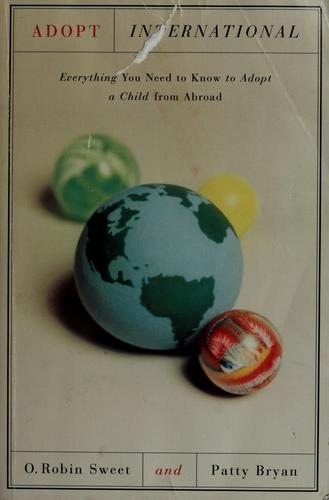 Adopt international by O. Robin Sweet