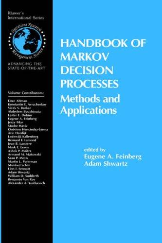 Handbook of Markov decision processes by Adam Shwartz