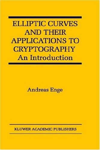 Elliptic Curves and Their Applications to Cryptography