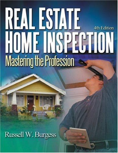 Real estate home inspection