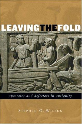 Leaving the Fold by S. G. Wilson