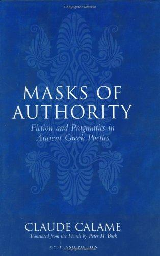 Masks of authority by Claude Calame