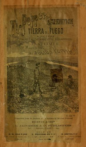The Popper Expedition, Tierra del Fuego by Julio Popper