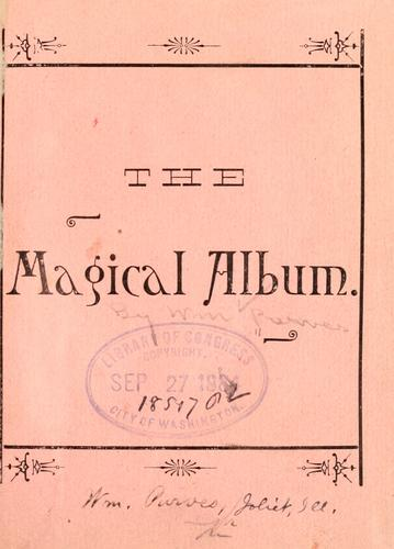 The magical album by William Purves