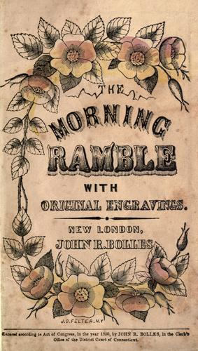 The morning ramble by