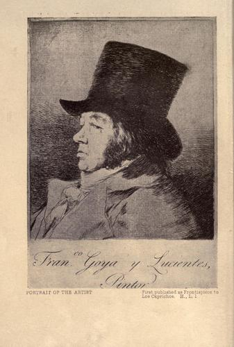 Photo of Francisco Goya