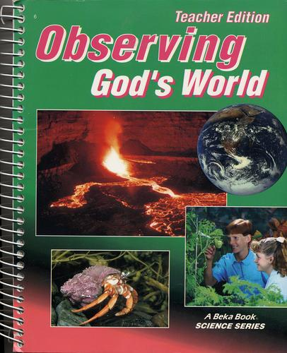 Observing God's World by Gregory Rickard