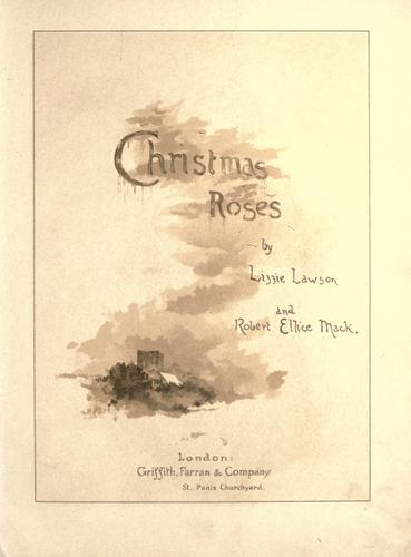 Christmas roses by Lizzie Lawson