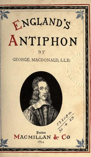 England's antiphon. by George MacDonald