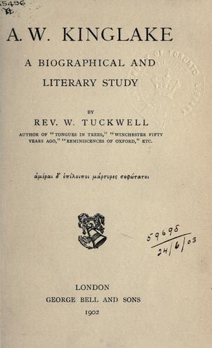 A.W. Kinglake