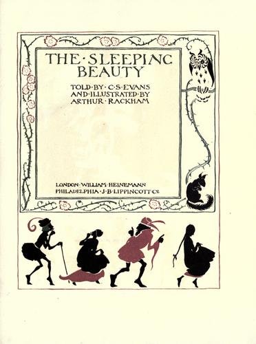 The sleeping beauty by C. S. Evans