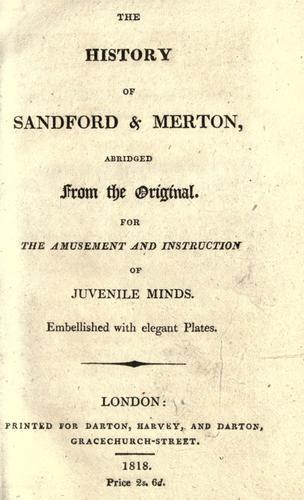 The history of Sandford & Merton