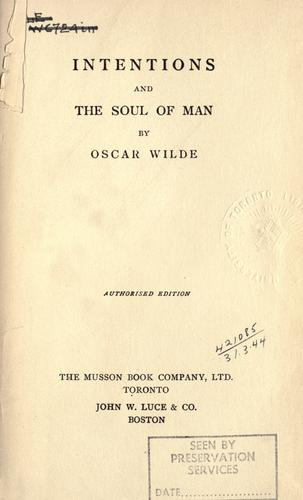 Collected works by Oscar Wilde