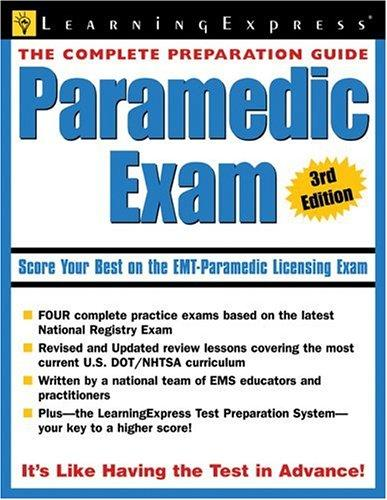 Paramedic Exam by LearningExpress Editors