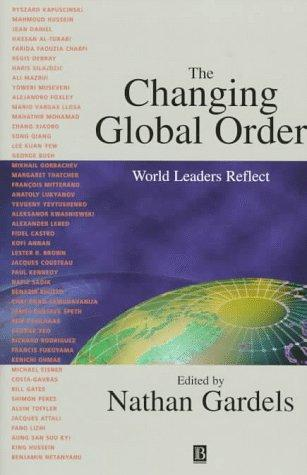 The changing global order by Nathan Gardels