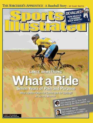 Sports Illustrated, August 1, 2005 Issue - Lance Armstrong Cover by Terry McDonell