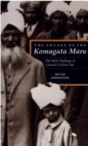 The voyage of the Komagata Maru by Hugh J. M. Johnston