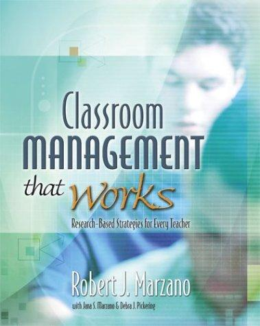 Image 0 of Classroom Management That Works: Research-Based Strategies for Every Teacher