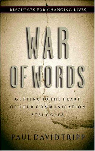 War of Words by Tripp, Paul David