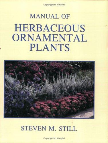 Manual of Herbaceous Ornamental Plants