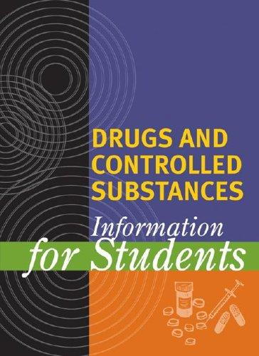 Drugs and controlled substances by