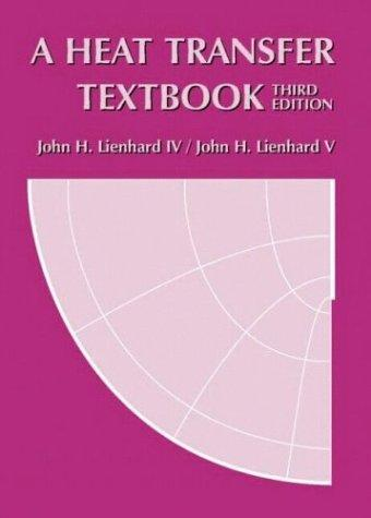 A heat transfer textbook by