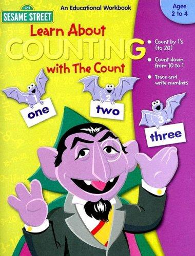 Learn About Counting With the Count (Sesame Street) by