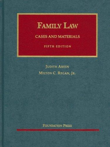 Cases And Materials on Family Law