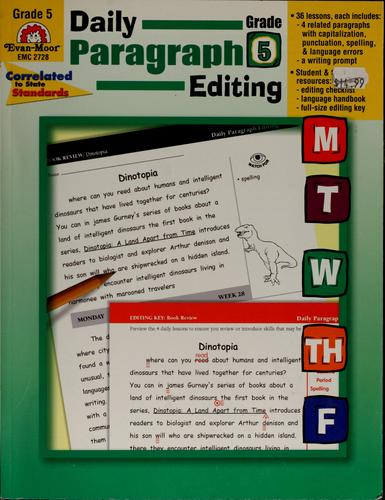 Image 0 of Daily Paragraph Editing, Grade 6