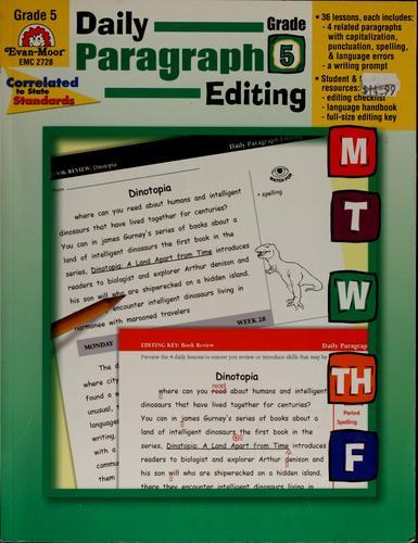 Image 0 of Daily Paragraph Editing, Grade 6