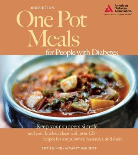 One Pot Meals for People with Diabetes by Ruth Glick, Nancy Baggett
