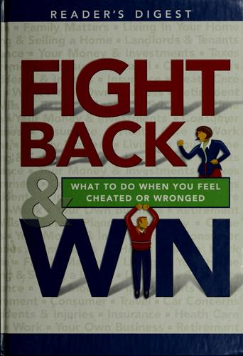 Fight Back & Win by Reader's Digest Association