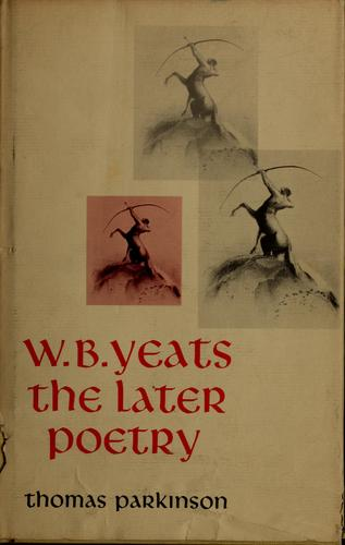W.B. Yeats by Thomas Francis Parkinson