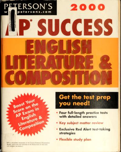 AP success English literature and composition by Margaret Moran